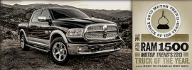 Ram truck of the year 2013